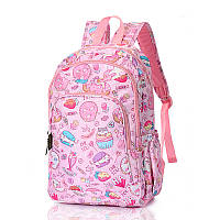 Детский розовый рюкзак Cat's Sweets, фото 1