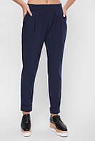 Брюки классические женские Ashley SHT-1652, синие брюки, брюки в офис, дропшиппинг, фото 1