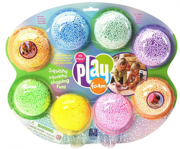 Набор шарикового пластилина Educational Insights Радуга, 8 цветов