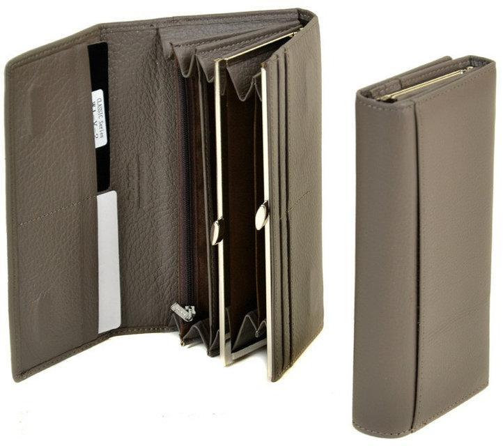 ff4c84aef687 Классический женский кожаный кошелек Dr.Bond на магните Разные расцветки  Отличное ...