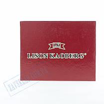 Мужской кожаный кошелек Lison Kaoberg 46543 C, фото 3
