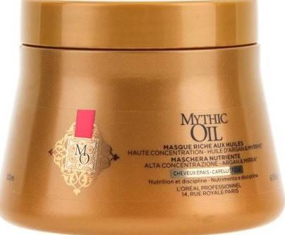 L'Oreal Mythic Oil Маска для толстых волос 200 мл, фото 2