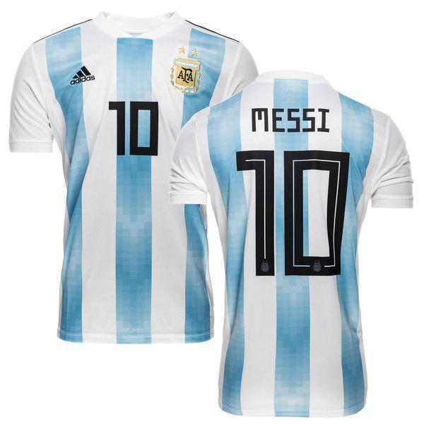 993e5b1068b7 Футбольная форма Сборной Аргентины Месси (Messi) World Cup 2018 домашняя