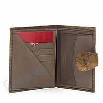 Мужской кожаный кошелек Lison Kaoberg 46538 C, фото 3