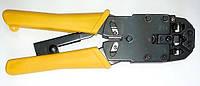 Hypernet HT-2008R Инструмент тип профи для обжимки кабеля (RJ-45, RJ-12, RJ-11), Hypernet
