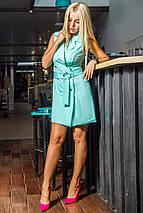 Женское платье без рукавов с поясом (Мелани mrb), фото 2