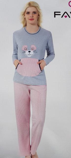 "Женская пижама ""FAWN"" №2044 интерлок"