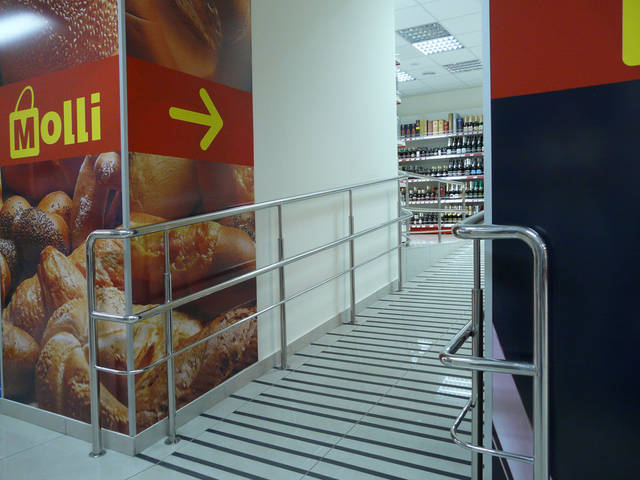 Оформление магазина «Molli» г. Черкассы. 2