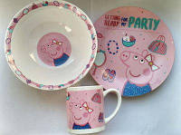 Набор детский из 3-х предметов Маленькая свинка