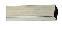 Труба для карниза КВАДРО, 20х20мм, 200см.