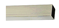 Труба для карниза КВАДРО, 20х20мм, 240см.