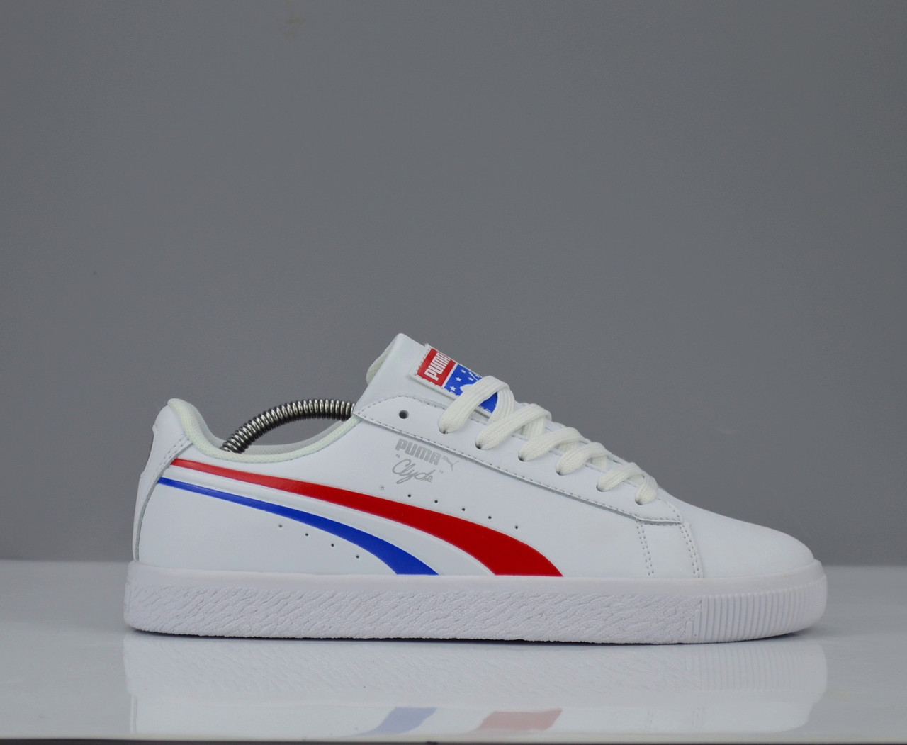 50203ebbbdf Puma White Multi Color Clyde Celebrates Independence Day With 4th of July   Кроссовки Puma Clyde 4th Of July ...