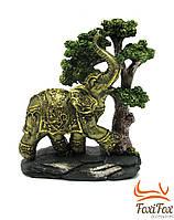 """Статуэтка """" Слон под деревом """" 21,5 см"""