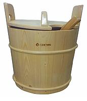Запарник Greus 23 л сосна для бани и сауны