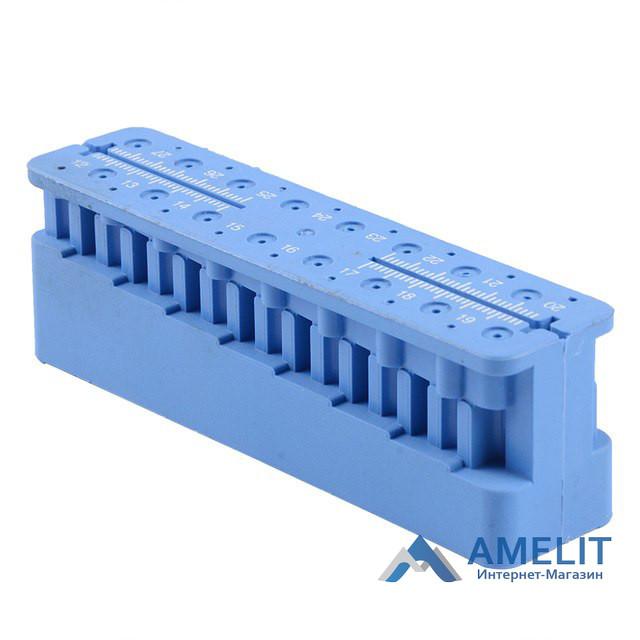 Линейка эндодонтическая (Mini-endo-block), 1шт.