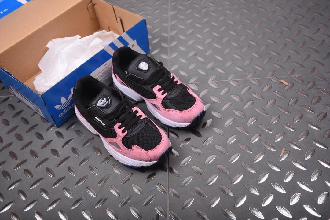 851507a9 Женские Кроссовки Adidas falcon black pink white: продажа, цена в ...