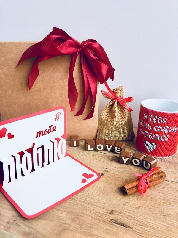 Подарочный набор для женщин I Love You