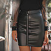 Женская юбка Черный, фото 2