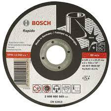 Відрізний диск плоский 125мм Expert for Inox - Rapido BOSCH