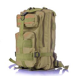 Тактический штурмовой военный рюкзак 35л портфель камуфляж Зеленый