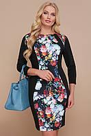 GLEM Цветы платье Кенди-Б д/р, фото 1