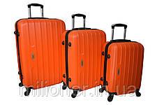 Чемодан Siker Line (большой) оранжевый, фото 3