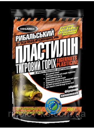 Рыболовный пластилин «Megamix» Тигровый орех 0,5кг