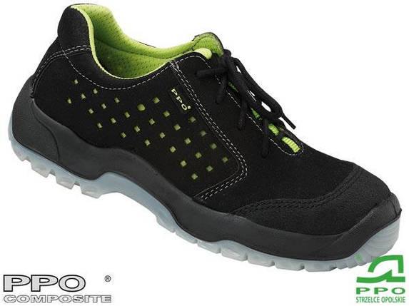 Полуботинки защитные с металлическим носком (спецобувь) BPPOP682, фото 2