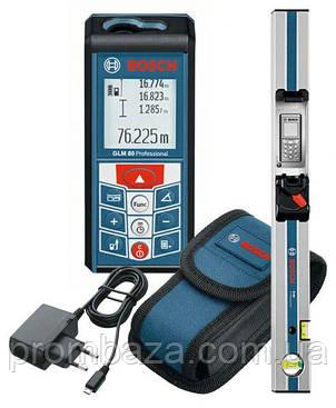 Лазерный дальномер Bosch GLM 80 + R 60, фото 2