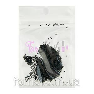 Хрустальная крошка Crystal Pixie №003 Black Jet, 1440 шт