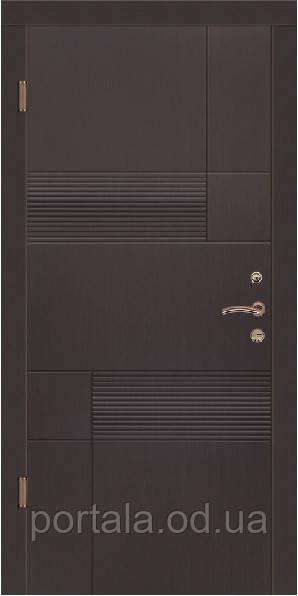 """Входная дверь для улицы """"Портала"""" (Стандарт Vinorit) ― модель Калифорния"""