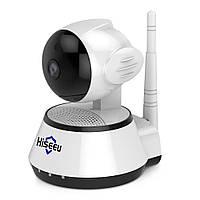 Поворотная Wi-Fi IP камера -  HISEEU, Дайтечь речь, Радио няня!!, фото 1