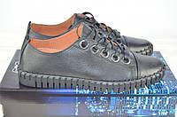 Туфли мужские Prime N Shoes 19-031-30120 чёрные кожа на шнурках, фото 1