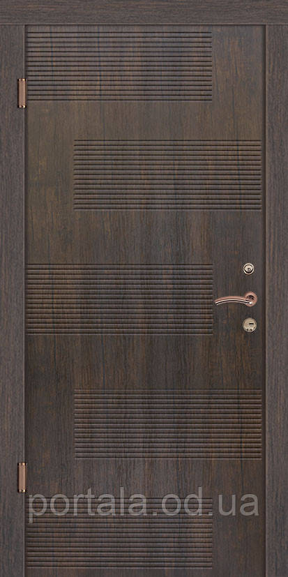 """Входная дверь для улицы """"Портала"""" (Стандарт Vinorit) ― модель Лион"""