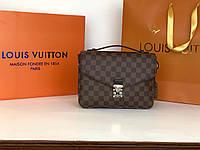 748eca671d47 Женская кожаная сумка Louis Vuitton Луи Витон качественная копия