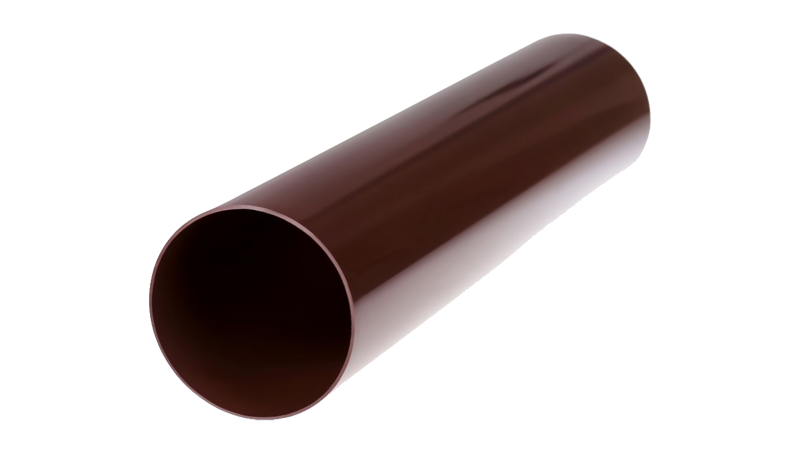 Труба Profil 100 коричнева 3м.