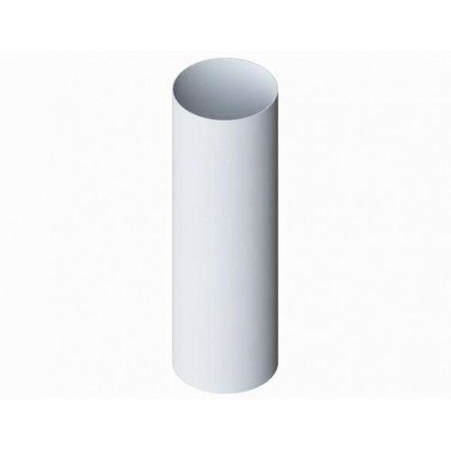 Труба белая 75мм. L-3м