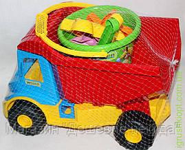 Multi truck Вантажівка з набором для піску 8 ел.