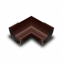 Угол желоба внутренний  90* коричневый 130