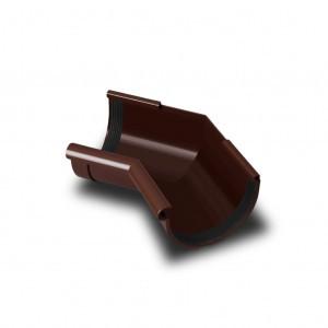 Кут жолоба внутрішній 135* коричневий 90мм