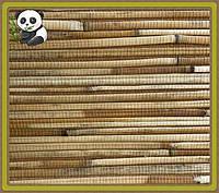 Натуральные обои Тростник крупный, бамбук /коричневый фон, фото 1