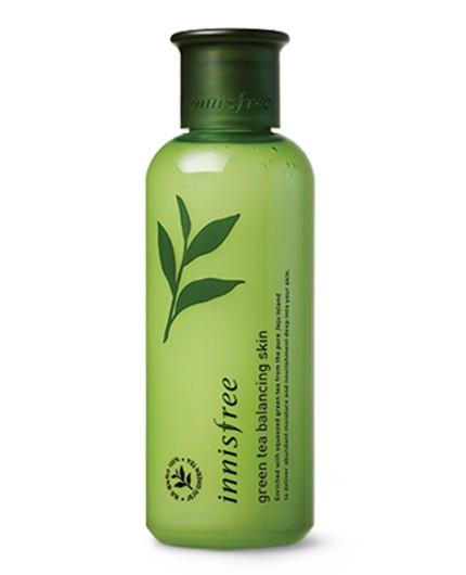 Innisfree Green Tea Balancing Skin EX Увлажняющий тонер с экстрактом зеленого чая