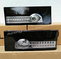 Задние Фонари ВАЗ 2108/2109/21099/2113/2114 Чёрные (светодиодные)