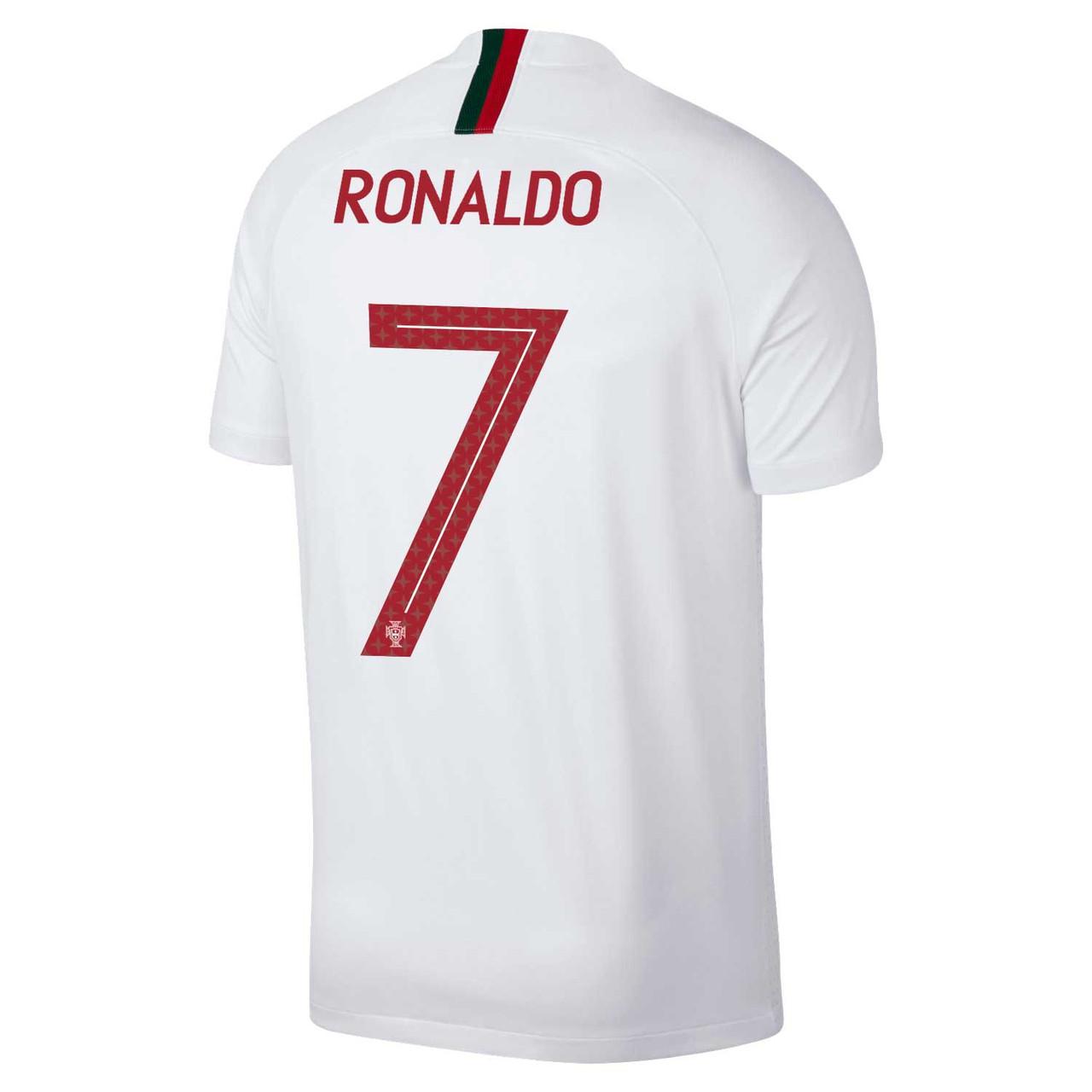 Футбольная форма Сборной Португалии Роналдо (Ronaldo) World Cup 2018 выездная, фото 1