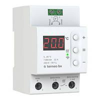 Terneo bх терморегулятор для теплого пола с Wi-Fi на Din-рейку