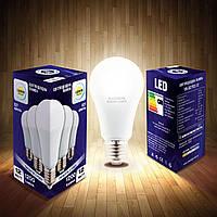 Светодиодная LED лампа Е27 12W 3000К(теплый белый)