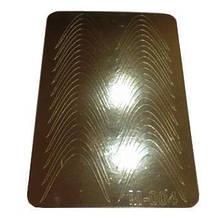 Слайдер дизайн для ногтей 004 (золото)