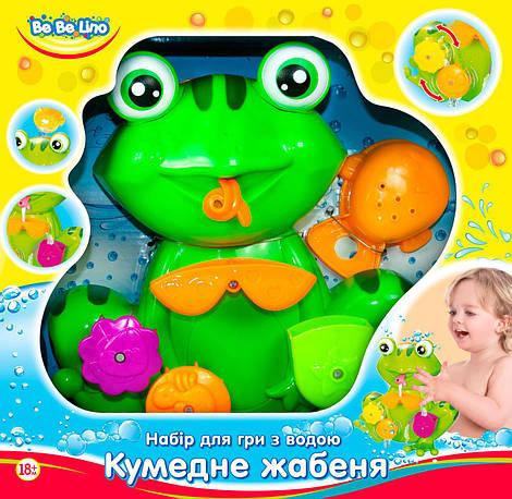 """Набор для игры с водой  """"Забавный лягушонок"""" в кор. 27*26*10,5см. //"""