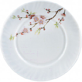 """Тарілка склокерам. 200мм 8"""" дрібна Sakura уп.6шт"""