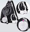 Рюкзак міський жіночий шкіряний LAZADA, фото 2